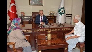 15 Temmuz Şehidi Karacatilki'nin Ailesi Başkan Kara'yı Ziyaret Etti