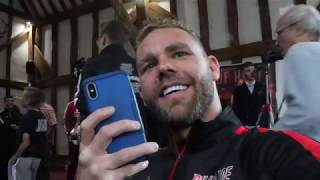 BILLY JOE SAUNDERS RAW ON WILDER DEATH COMMENTS, FURY-WHYTE, CANELO, SMITH, ISUFI CLASH & EUBANK