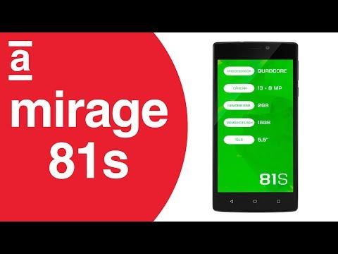 Review - Smartphone Mirage 81s | Americanas.com