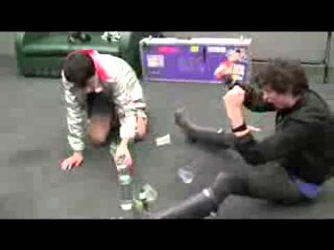 Bloc Party Olympics (Backstage At Glastonbury)