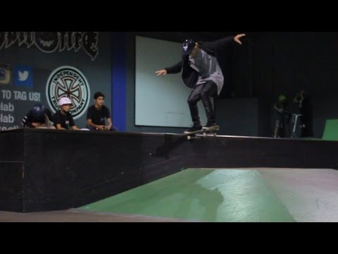 Justin Bieber At Skatelab