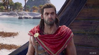 Assassin's Creed Odyssey Early Gameplay Walkthrough Part 1 - Alexios