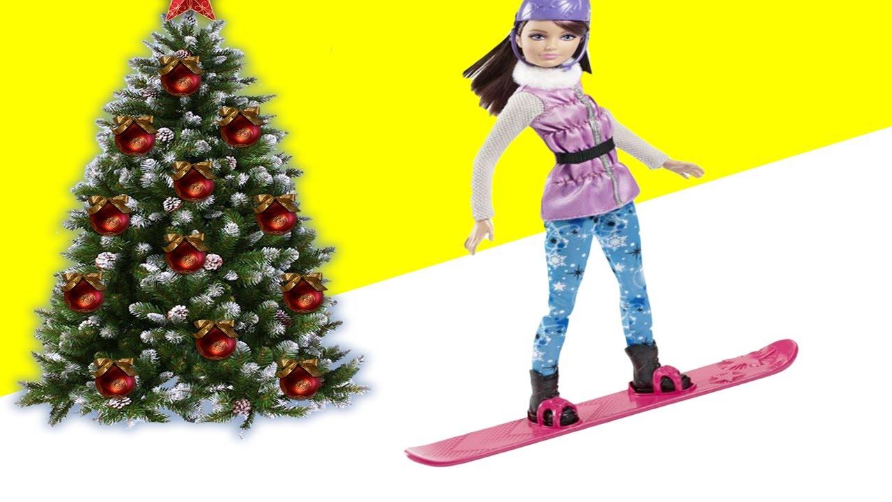 Барби на новый год мультфильм