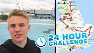 Going to EVERY Premier League Stadium in 24 HOURS CHALLENGE