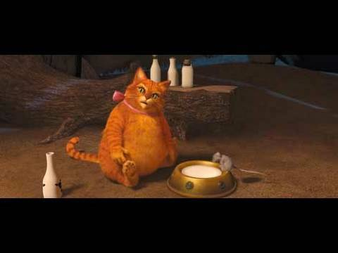 The Puss Got Fat!!!    Shrek Forever After