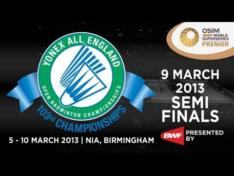 SF - WS - Saina Nehwal vs Intanon Rathanok - 2013 Yonex All England