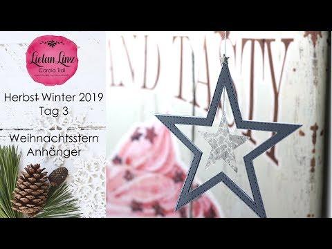 Herbst-Winter 2019 Tag 3: Stern-Anhänger