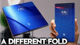 NEW FOLDING PHONE WITH A DIFFERENCE