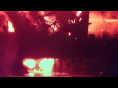 BREAKING: Azeri Oil Rig Fire 32 Dead Many Rescued Caspian Sea