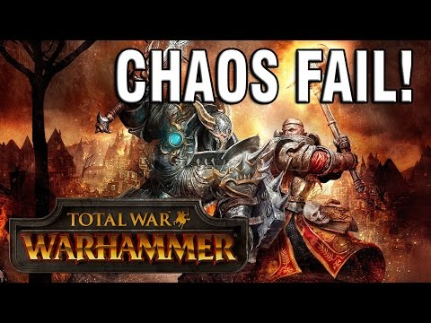 DEATH TO MY HERO FAIL! Total War: Warhammer - Warriors Of Chaos Campaign (#3)