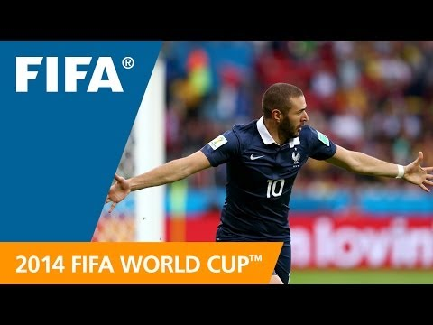Benzema v Honduras - Goal-Line Technology EXCLUSIVE