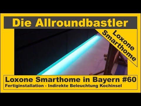 Loxone Smarthome - Fertiginstallation in Bayern #60 - Indirekte Beleuchtung Kochinsel