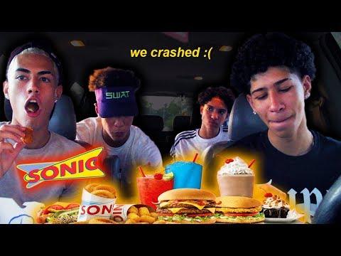 SONIC MUKBANG: Eli Crashed The Car.... thumbnail