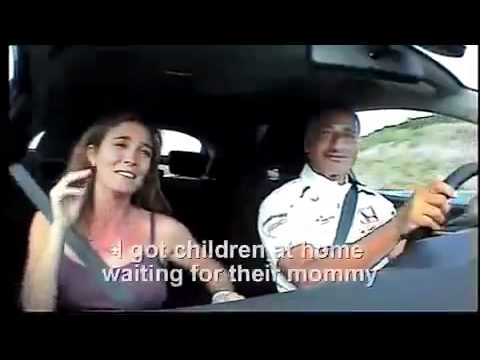 Riccardo Patrese & Wife around  the track - English subtitles