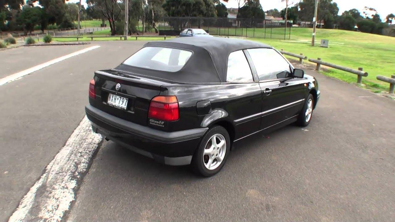 Golf cabrio 1996 walkaround youtube