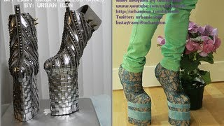 LADY GAGA HEELLESS SHOES | HANDMADE