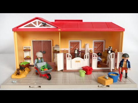 Playmobil Take Along Horse Stable Take Along Horse Stable From