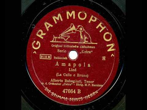 Alberto Rabagliati: Amapola (1941)