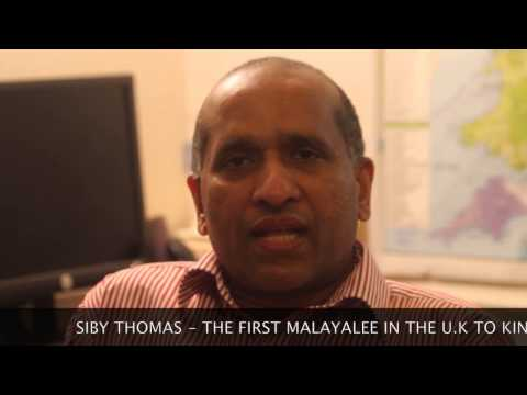 A SPECIAL INTERVIEW WITH SIBY THOMAS ,FIRST UK MALAYALI KIDNEY DONATER
