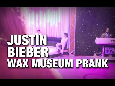 BEST VIDEO ON YOUTUBE AWARD 2013 Justin Bieber Wax Museum Prank by Connor Kid On Vacation
