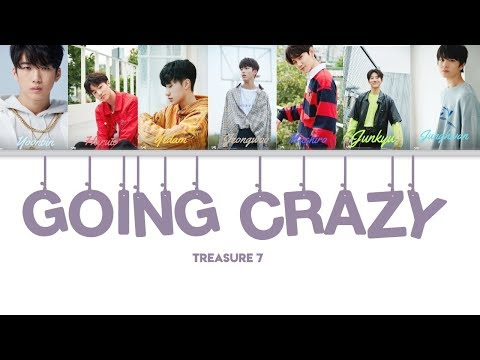Download GOING CRAZY  TREASURE 7 COLOR CODED ENG LYRICS