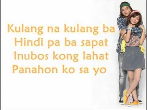 She's Dating The Gangster Song Kathniel   Kulang na Kulang by Joy and Bevs
