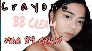CRAYONS BB CREAM! FOR 89 PESOS ONLY -Airajamelle
