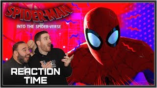 Spider-Man: Into The Spiderverse Trailer #2 - Reaction Time!