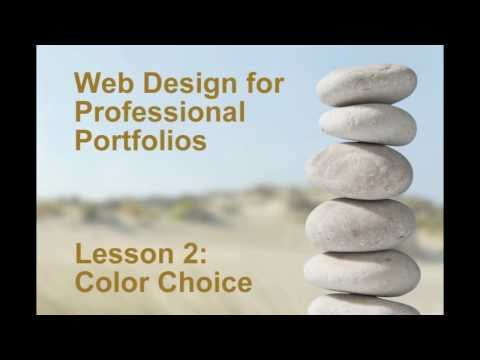0 Web Design for Professional Portfolios: Lesson 2