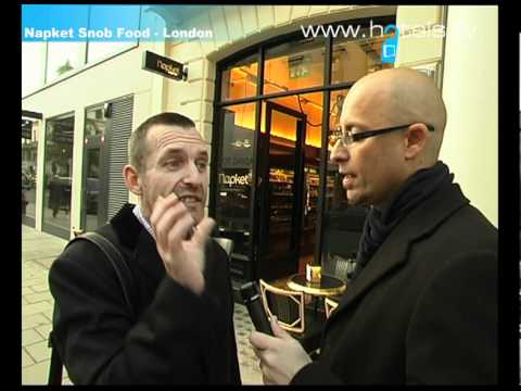 London Restaurants: Napket Snob Food - London, England - Hotels.tv