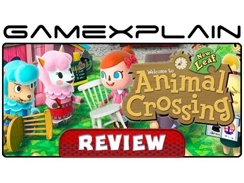 Animal Crossing: New Leaf - Video Review (Part 1 - Nintendo 3DS)
