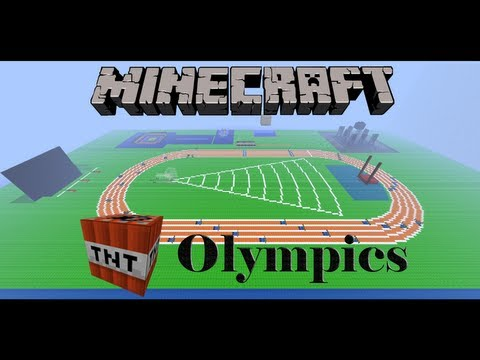 Minecraft TNT Olympics Episode 8: Equestrianism (Horse Riding) and Arena Design Competition