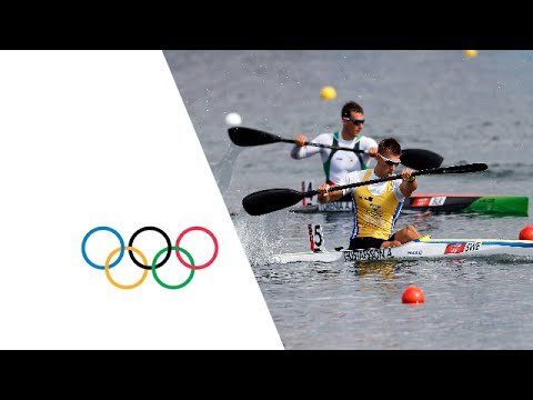 Canoe Sprint Kayak Single (K1) 1000m Men Heats Full Replay -- London 2012 Olympic Games