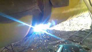 Professional welding of UU Stinsenman