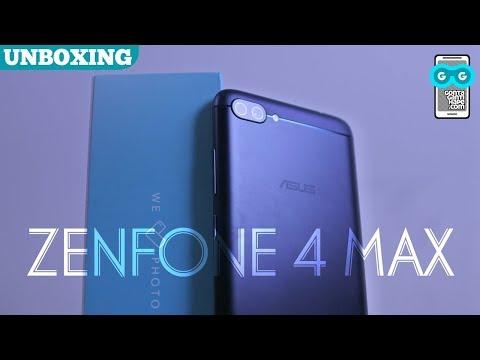 ASUS Zenfone 4 Max Pro (ZC554KL) - Unboxing. Fingerprint & Camera Test (Indonesia)