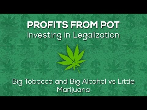 Big Tobacco and Big Alcohol vs Little Marijuana