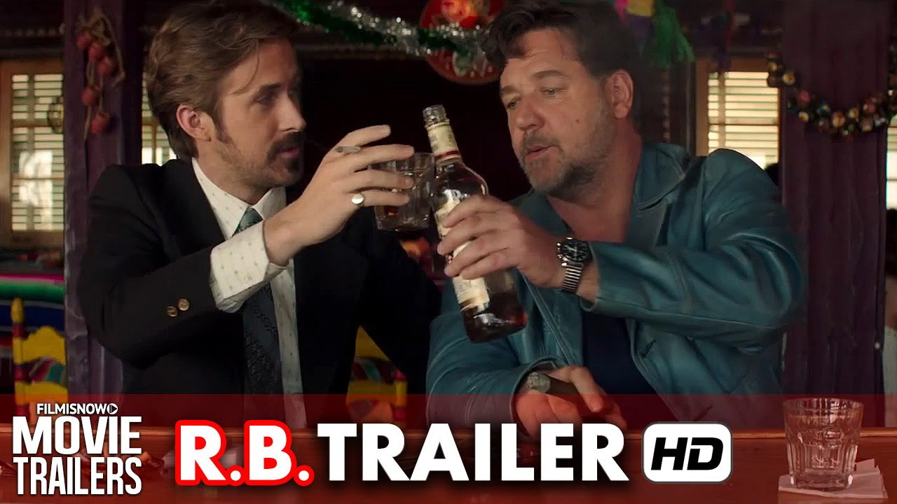 The Nice Guys ft. Ryan Gosling Official Red Band Trailer (2016) HD