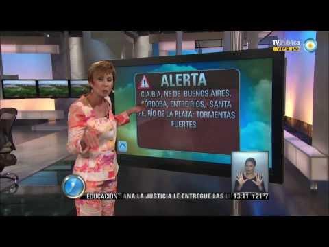 Visión 7: Pronóstico y alertas en distintos puntos del país