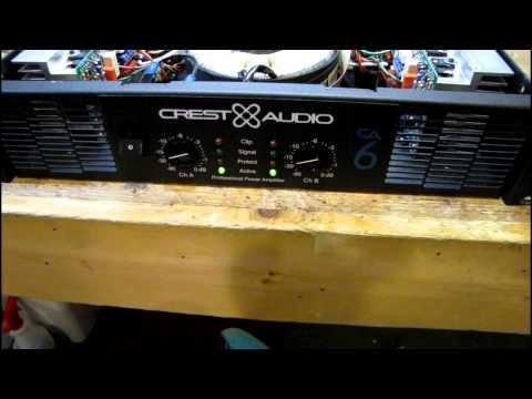 download vintage qsc a21 amplifier repair 42013 video