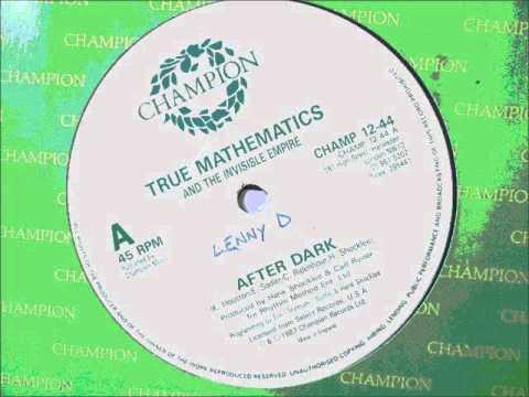"""True Mathematics  - After dark. 1987 (12"""" Hip hop/Rap)"""