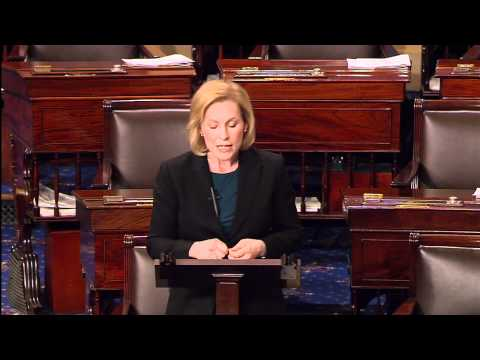 Senator Gillibrand Fights Back for Women's Health on the Senate Floor