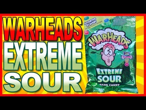 Kids Eating Warhead Candy For The First Time Video