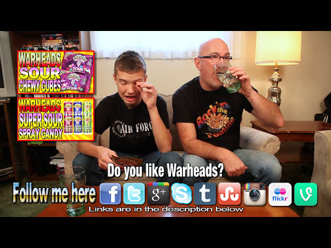 WarHeads ★ Extreme Sour Hard Candy with Co-Host Ben