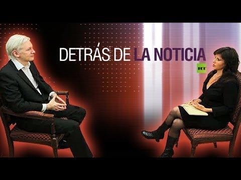 Detrás de la noticia: Entrevista con Julian Assange