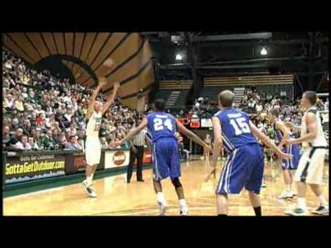 Rams Basketball vs. Air Force 1/26/11 Highlights - Colorado State University