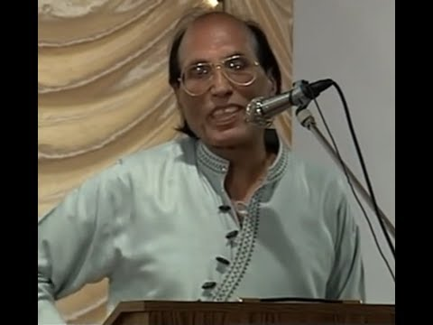 Dr. Bashir Badr [international Mushaira 2002 Houston]{1} video