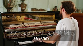 """Too Good At Goodbyes"" - Sam Smith (Piano Cover) - Costantino Carrara"