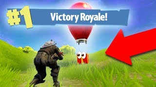 THEY'LL NEVER FIND ME IN HERE! *SUPPLY DROP TROLLING!* | Fortnite Battle Royale