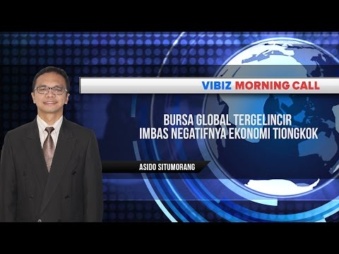 Bursa Global Tergelincir Imbas Negatifnya Ekonomi Tiongkok, Vibiznews 2 September 2015