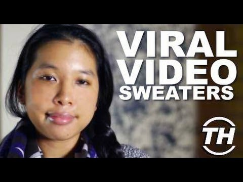 Viral Video Sweaters - Tana Makmanee Unveils DIY Apparel That Will up Your Swag